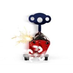 Механическая искрящаяся заводная игрушка Ping Ling