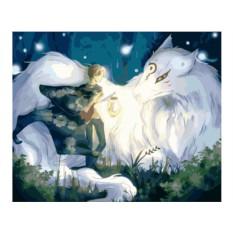 Картина по номерам «Тетрадь дружбы Нацумэ»