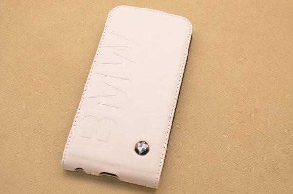 Кожаный чехол BMW для iPhone 6 «Дингольфинг» (белый)
