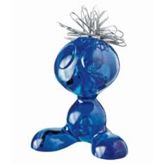 Синий держатель для скрепок Curly