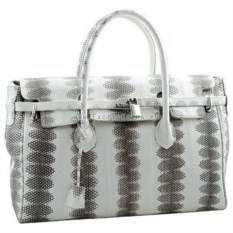 Женская сумка из кожи морской змеи Birkin