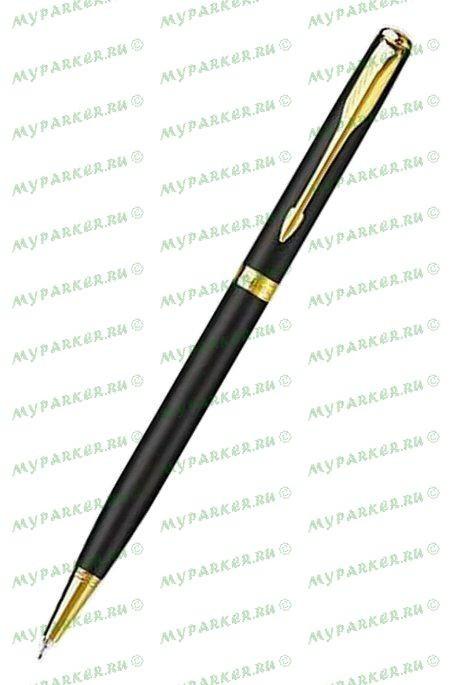 Ручка Parker Sonnet Slim B428 Matte Black GT