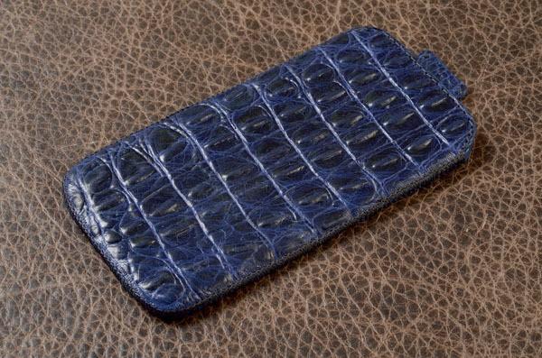 Кожаный чехол для iPhone 6 «Синяя гора» Elole Design