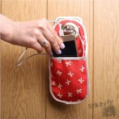 Холдер для телефона Карман в красных тонах