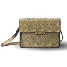 Женская сумка «Фантазия» (цвет — золотой)