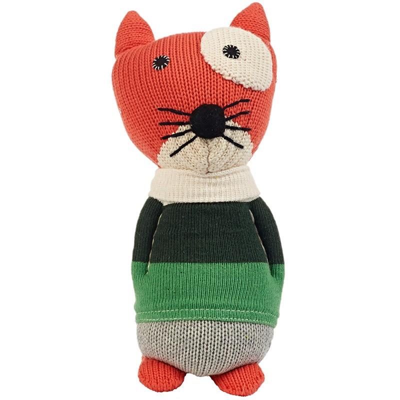 Игрушка вязаная Cat Mandarine