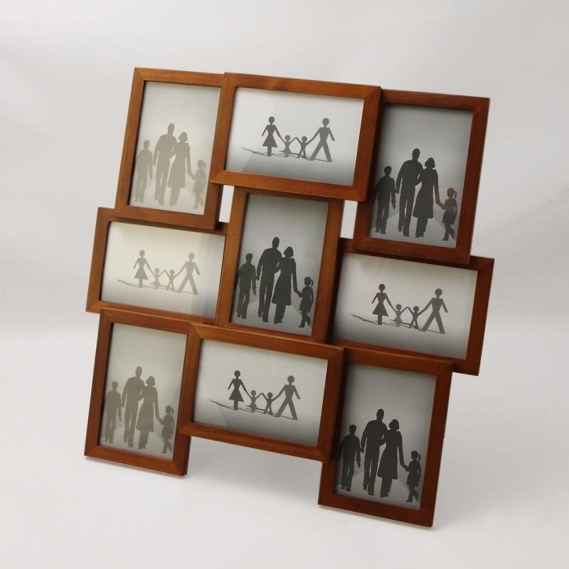деревянные рамки для фотографий на стену кошки