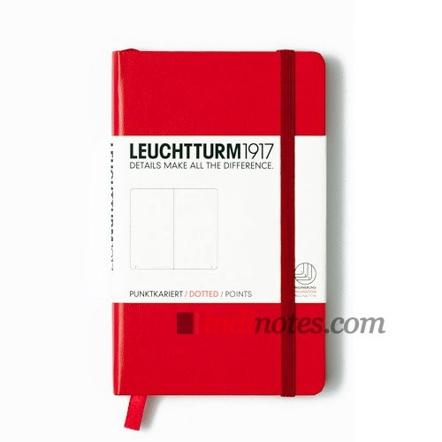Записная книжка Pocket Notebook Red от Leuchtturm1917