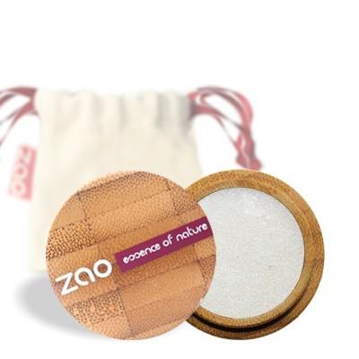 Перламутровые тени для век 101 (белый жемчуг) zao