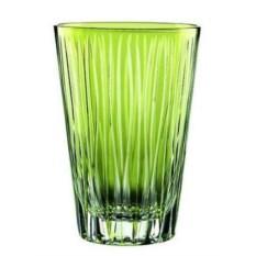 Набор высоких стаканов из хрусталя Lines Kiwi