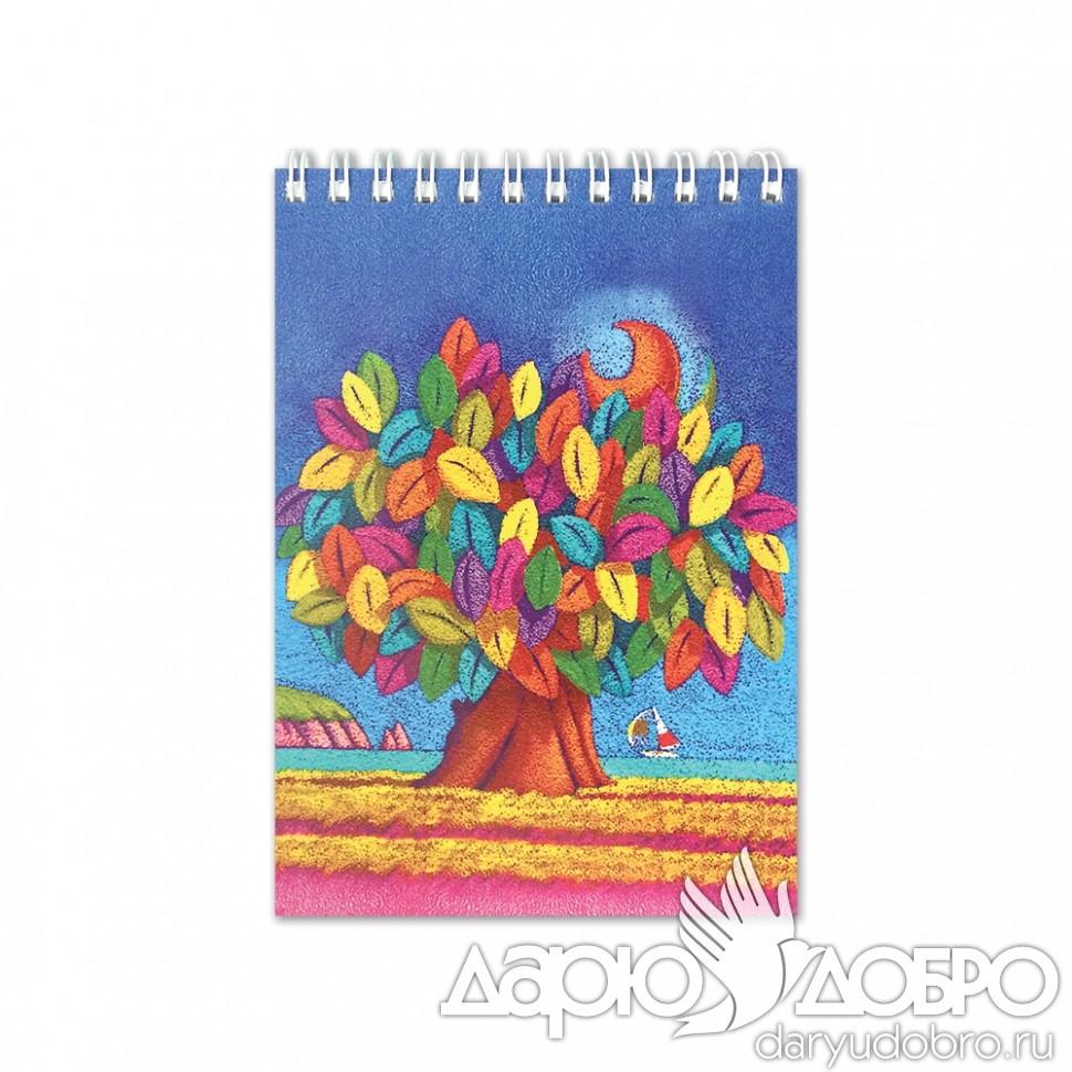 Блокнот Дерево Счастья от iCalistini