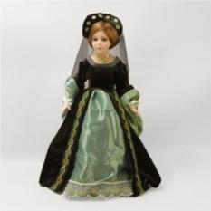 Фарфоровая кукла Царица Тамара