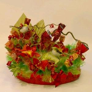 Букет из конфет «Райская жизнь»