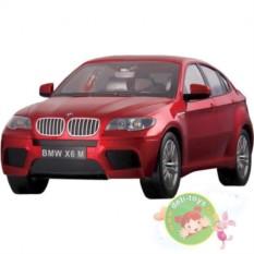 Красная радиоуправляемая машина BMW X6 M