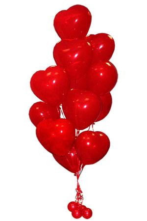Букет из воздушных шаров «Люблю»