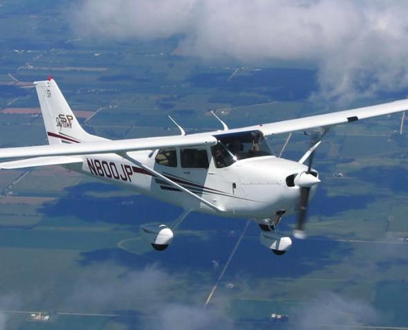 40 минут полета на Cessna-172