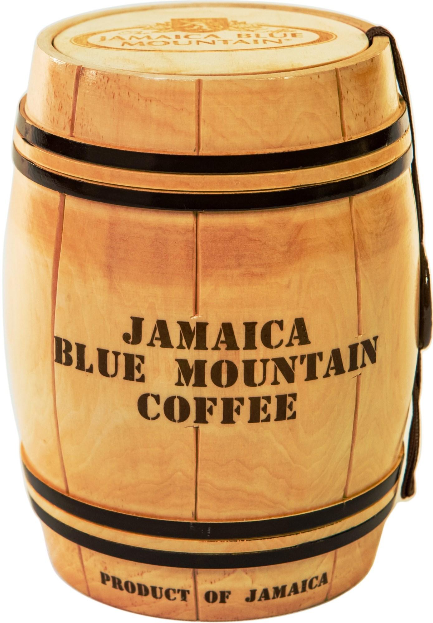 Кофе Ямайка Блю Маунтин, зерно, обжарка средняя, бочонок (200 г)