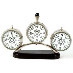 Настольные тройные часы