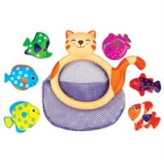 Игрушка для купания Кошка-сачок Мими