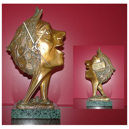Элитные настольные часы Venturi Arte:Часы LO SPIRITO DEL TEMPO