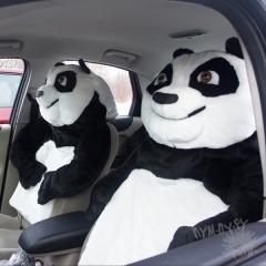 Чехол на автокресло Панда