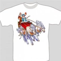 Подарочная футболка «Тройка»
