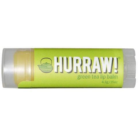 Бальзам для губ Hurraw! Green Tea Lip Balm