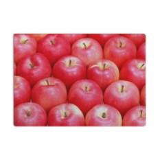 Разделочная стеклянная 3D доска Яблоки