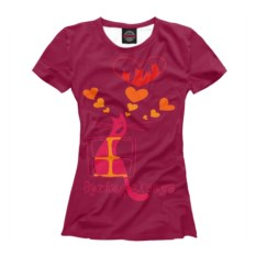 Женская футболка Вечная весна