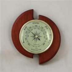 Настенный барометр. Цвет — махагон
