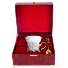 Чашка в шкатулке Герб