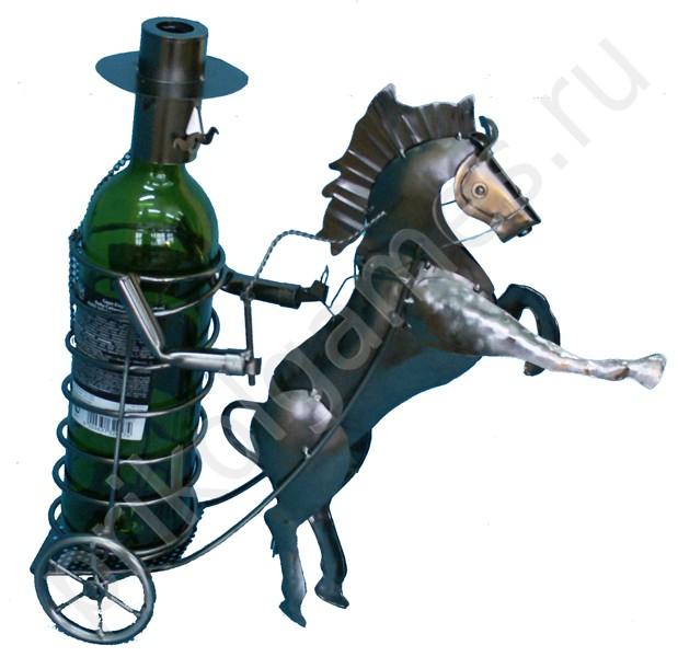 Подставка для бутылок Жокей