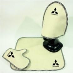 Комплект для бани с логотипом Mitsubishi