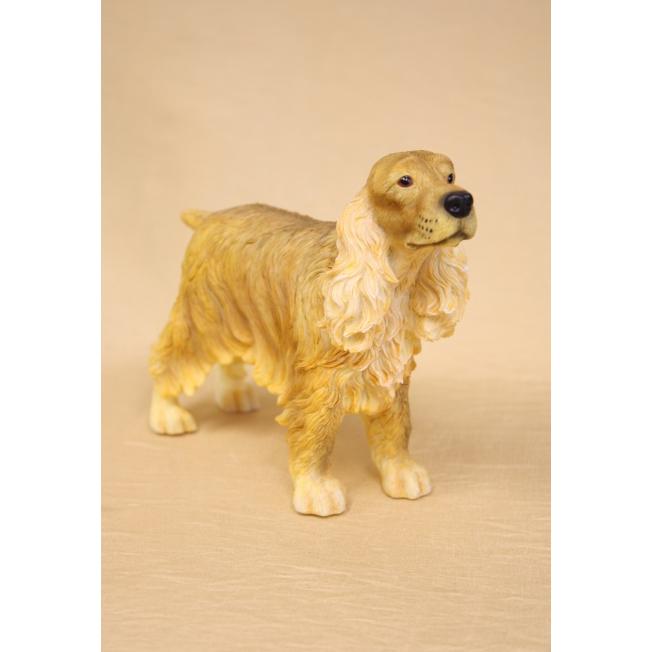 Скульптура собаки порода «Кокер-спаниэль»