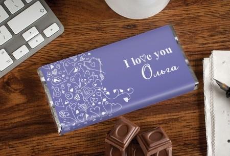 Именной шоколад Love You