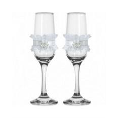 Набор свадебных бокалов №44