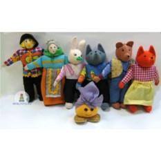 Шагающие куклы для театра «Колобок»