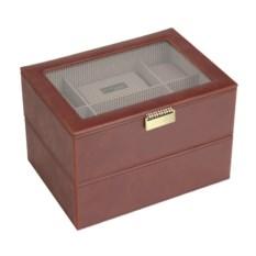 Светло-коричневая шкатулка для часов LC Designs Co