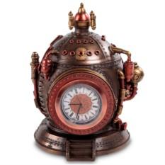 Шкатулка с часами в стиле Стимпанк «Машина времени»