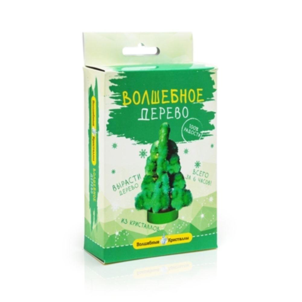 Набор для выращивания кристаллов Елочка зеленая