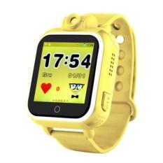 Желтые умные детские часы с GPS Smart Baby Watch GW-1000