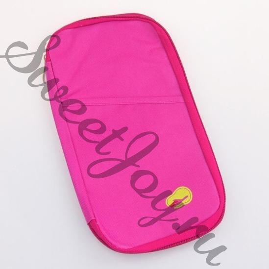 Холдер для документов Travelus Handy, темно-розовый