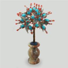 Дерево надежды из бирюзы