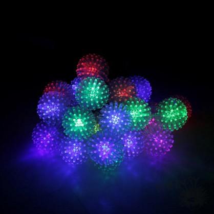 Светодиодная LED гирлянда Ёжики