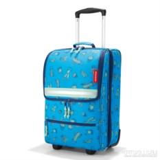 Детский чемодан Trolley xs Cactus blue