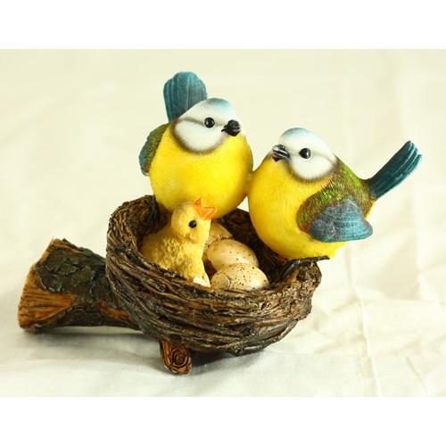 Фигурка «Гнездо с птичками»