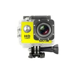 Экшн-камера SJCAM SJ4000 желтого цвета
