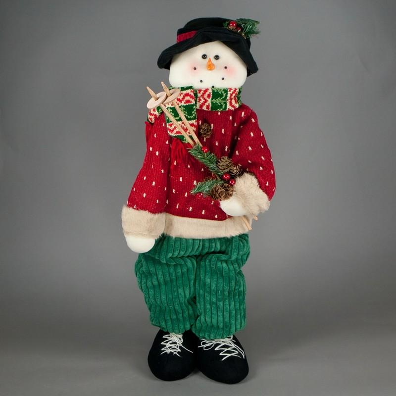 Снеговик Лыжник