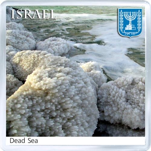 Магнит на холодильник: Израиль. Мёртвое море