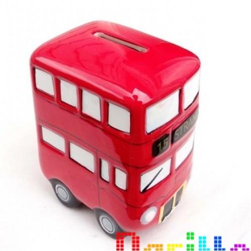 Дизайнерская копилка Лондонский автобус